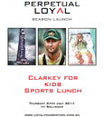 Clarkey for kids Lunch 2014 for the Loyal Foundation
